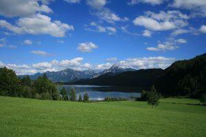 Weissensee bei Füssen im Allgäu